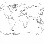 Blank Seven Continents Map | Mr.guerrieros Blog: Blank And Filled In   7 Continents Map Printable