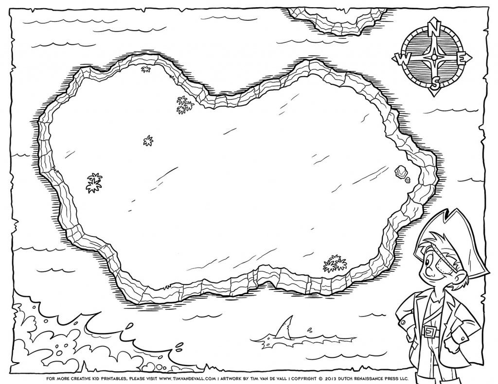 Blank Treasure Map Template. Site Map For Scavenger Hunt Fun Com - Printable Treasure Map Template