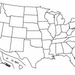 Blank Us Map Pdf Printable Of Capitals Maps   Printable United States Map Pdf