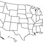 Blank Us State Map Printable East Coast Of Print   Blank Us State Map Printable