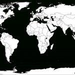Blank World Map Worksheet ~ Afp Cv   Printable Word Map