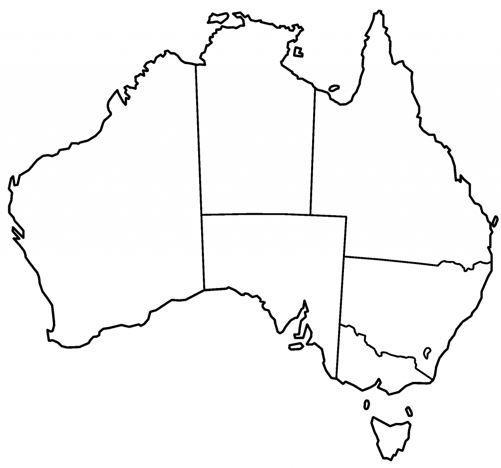 Blank+Australia+Maps | Thread: Blank Australia Map | What Im Doin - Free Printable Map Of Australia