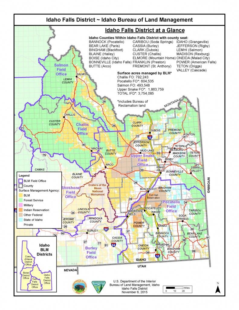 Blm Idaho Map   Fysiotherapieamstelstreek - Blm Land Florida Map