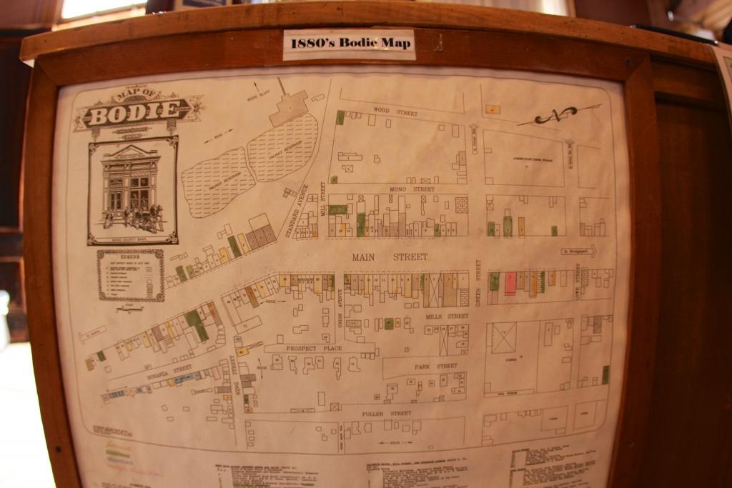 Bodie, California - Wikipedia - Bodie California Map