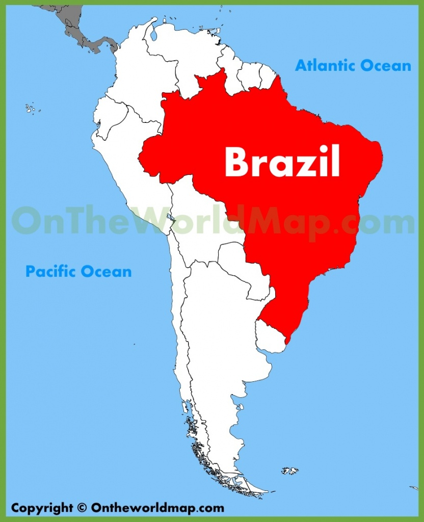 Brazil Maps | Maps Of Brazil - Free Printable Map Of Brazil