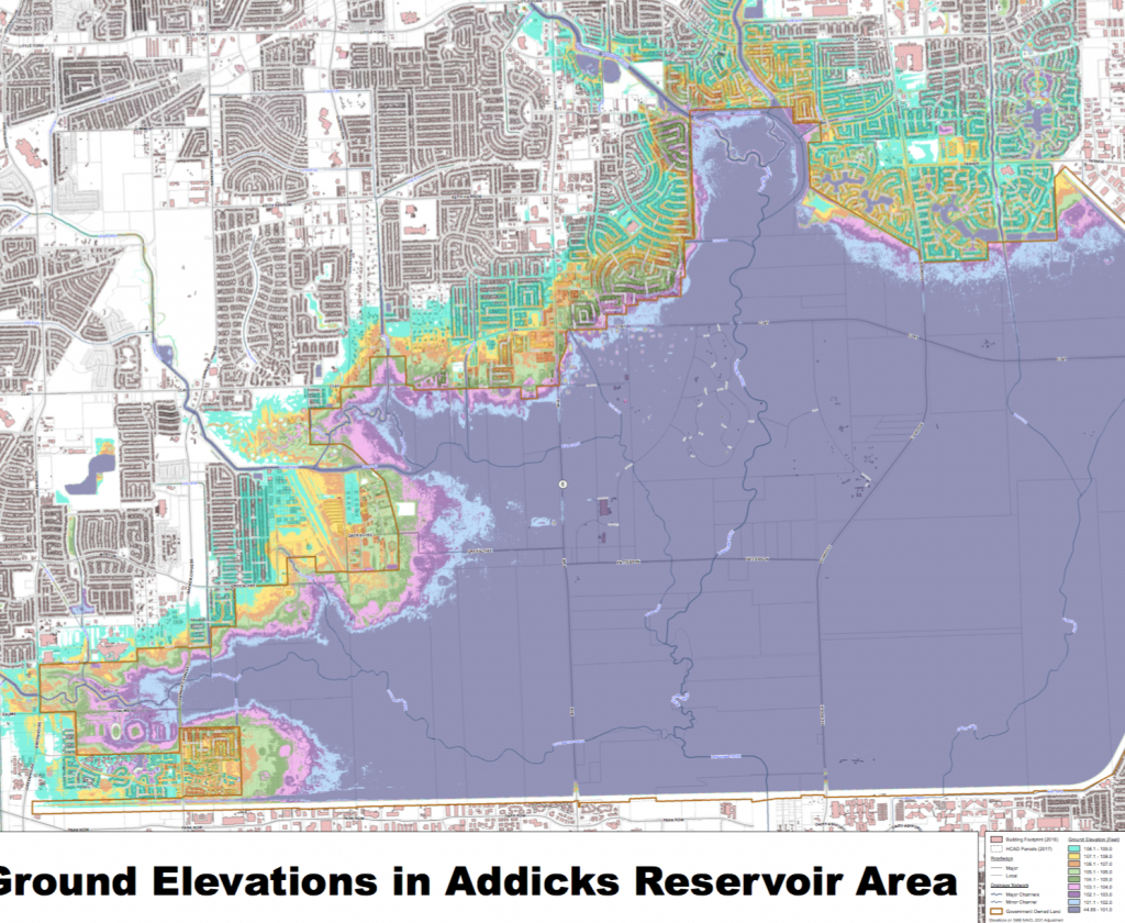 Breaking: Water 'likely' To Be Released From Addicks And Barker - Barker Texas Map