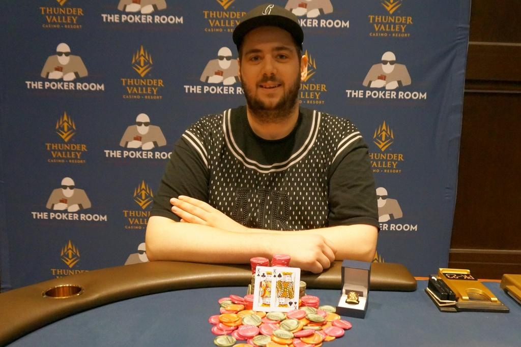 Brett Murray Wins Wsop Circuit Thunder Valley Main Event For - California Poker Rooms Map