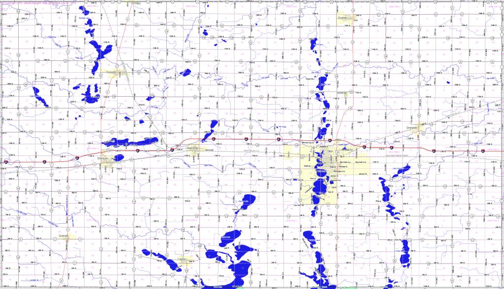 Bridgehunter | Martin County, Minnesota - Martin County Texas Section Map