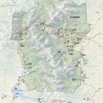 Brochures   Rocky Mountain National Park (U.s. National Park Service)   Printable Map Of National Parks