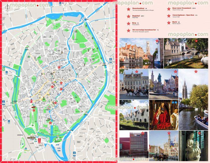 Printable Street Map Of Bruges