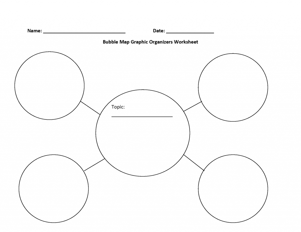 Bubble Map Printable - Titan.iso-Consulting.co - Circle Map Template Printable