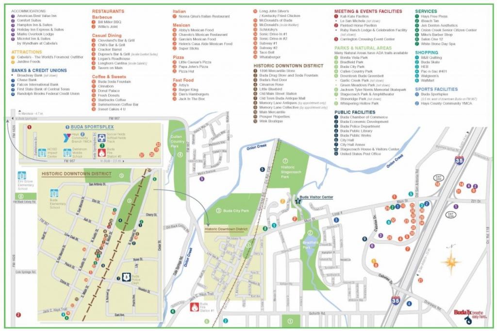 Buda, Texas Real Estate - Cabelas In Texas Map