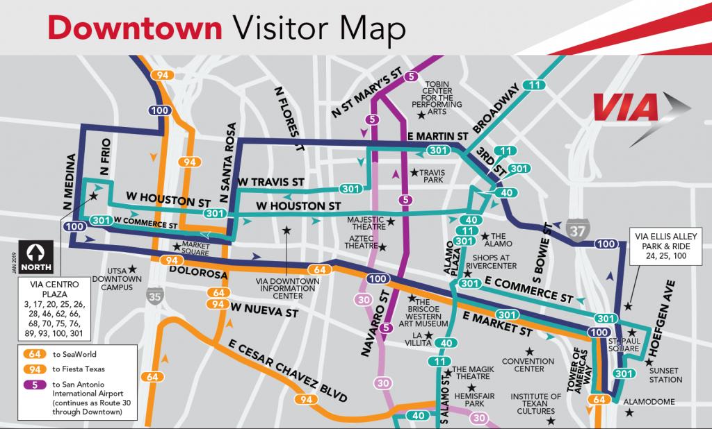 Bus Services - Via Metropolitan Transit - Austin Texas Public Transportation Map