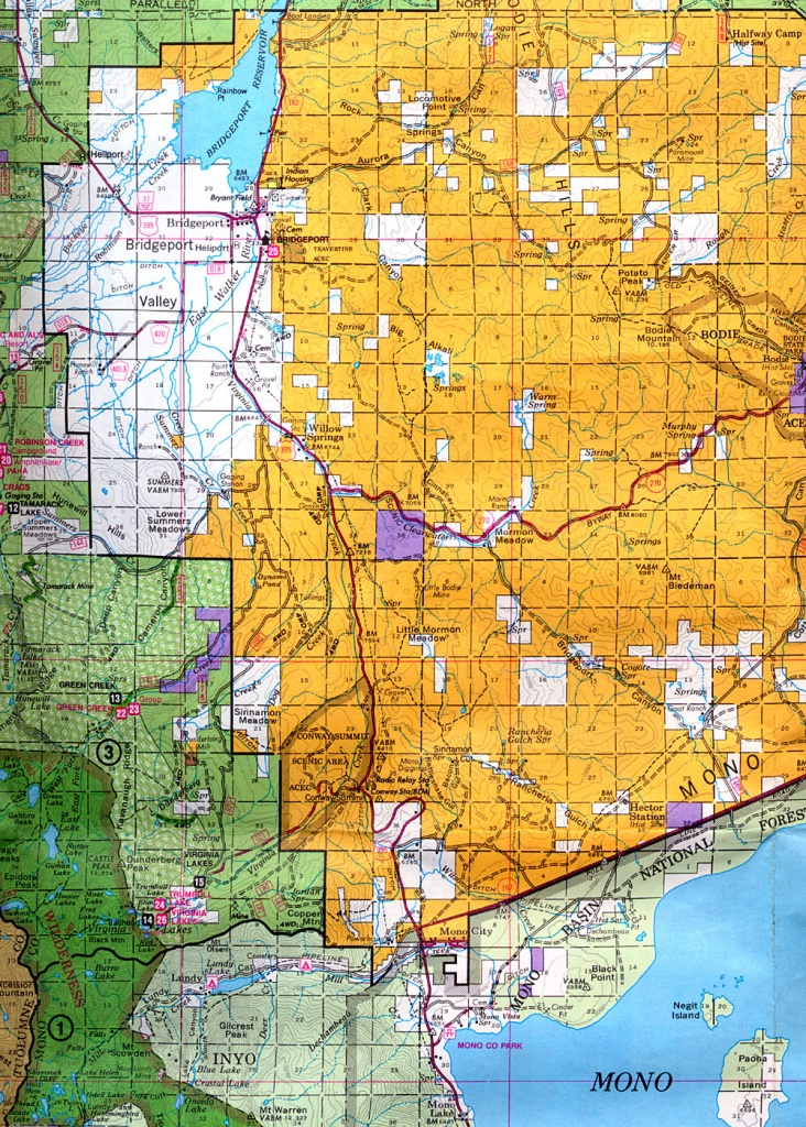 Buy And Find California Maps: Bureau Of Land Management: Northern - Blm Hunting Maps California