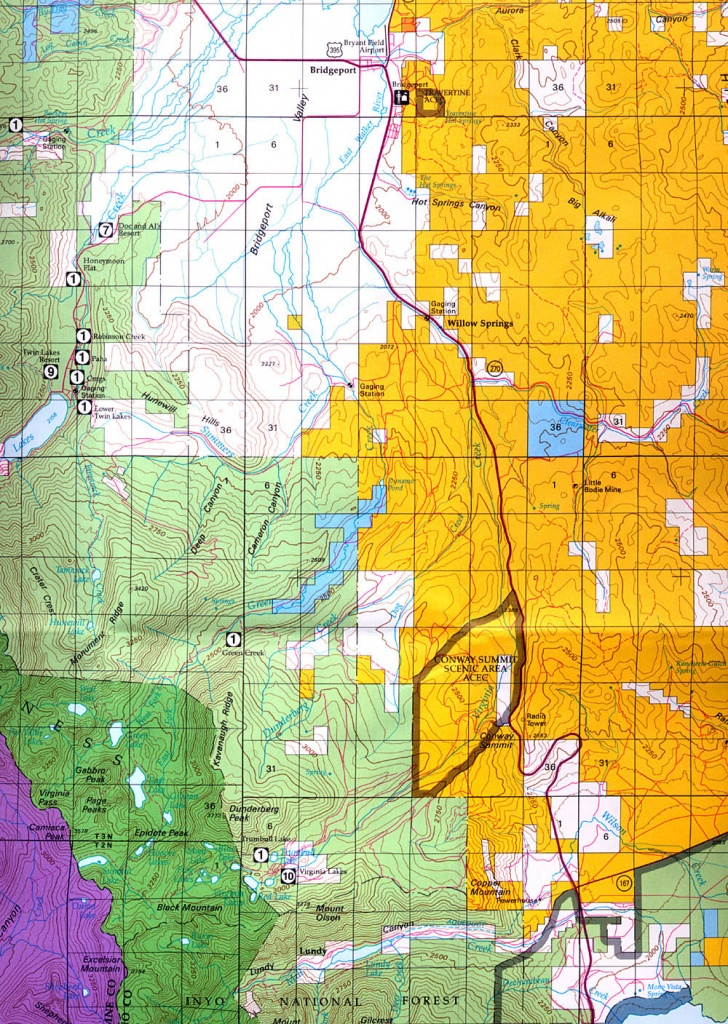 Buy And Find California Maps: Bureau Of Land Management: Southern - California D8 Hunting Zone Map