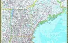 Buy Map Of New England | Download Them And Print   Printable Map Of New England States