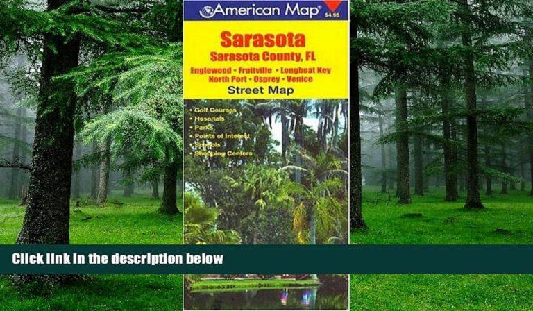 Buy Now Sarasota, Sarasota County, Fl Street Map ...