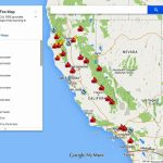 Ca Fire Map Now | Stadslucht   Where Are The Fires In California Right Now Map