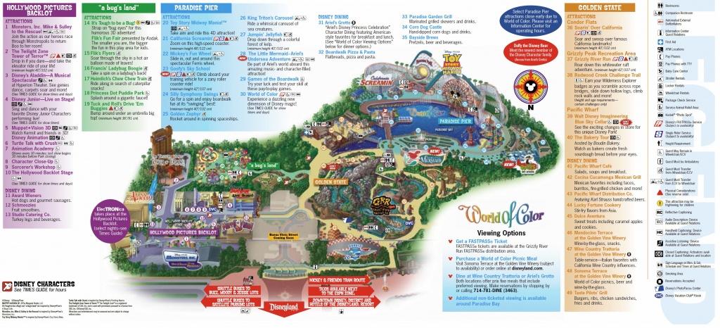 California Adventure Map Pdf Disneyland My Blog Inside | D1Softball - California Adventure Map