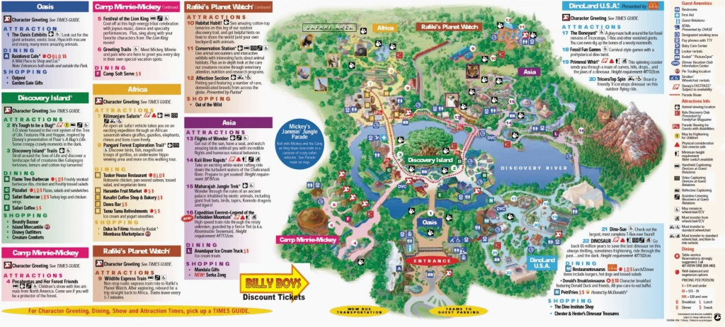 California Adventure Map Pdf Map Disney California Adventure Park - Printable California Adventure Map