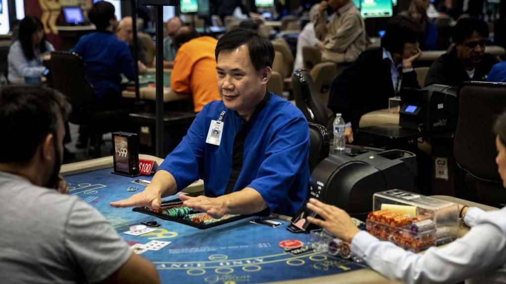 California Card Club Owners Fear New Gambling Regulations Could - California Poker Rooms Map