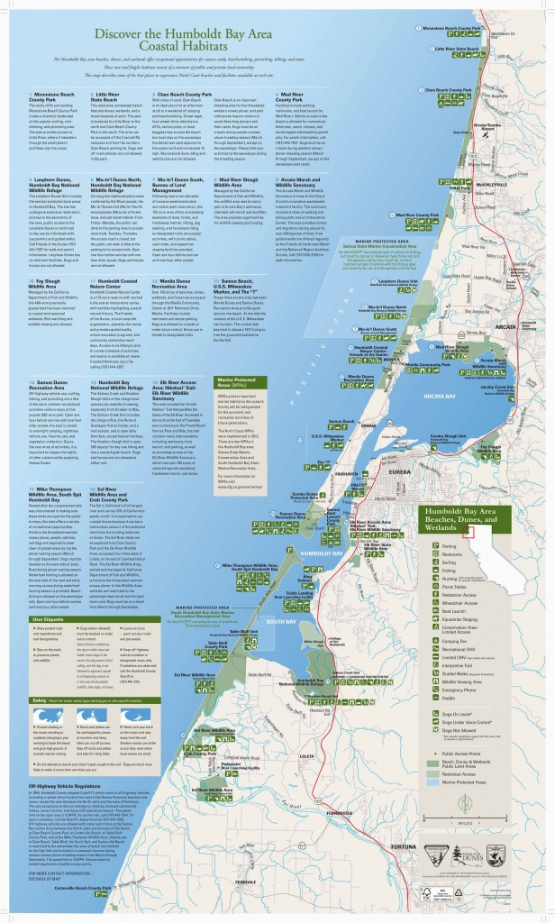 California Coast Camping Map | Secretmuseum - Map Of California Coast Beaches
