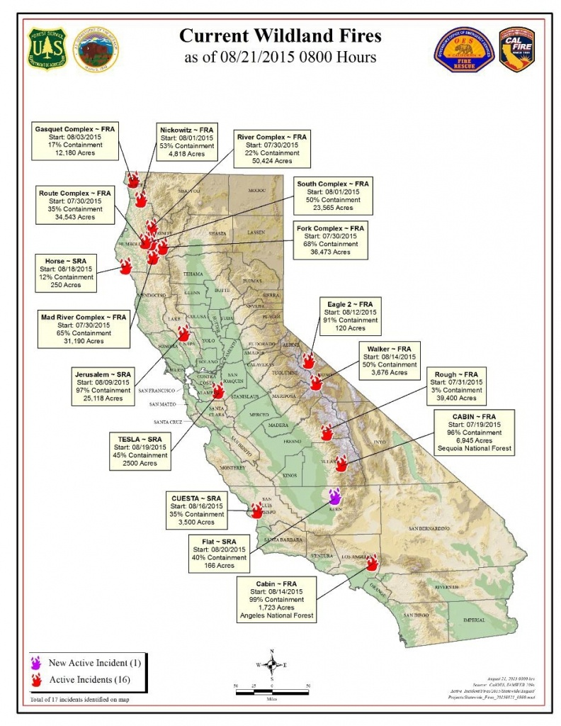 California Fire Map Google 2017 – Map Of Usa District - California Fire Map Google