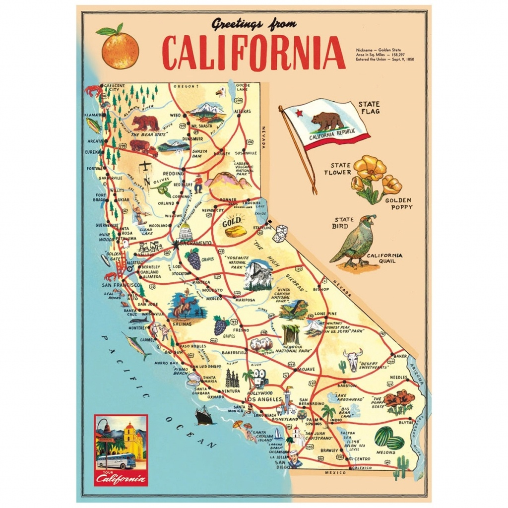 California Map Of Tourist Attractions – Map Of Usa District - California Tourist Attractions Map