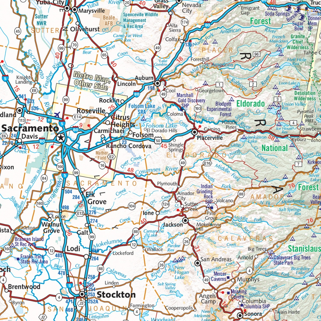 California Road Map — Benchmark Maps - Benchmark Maps California
