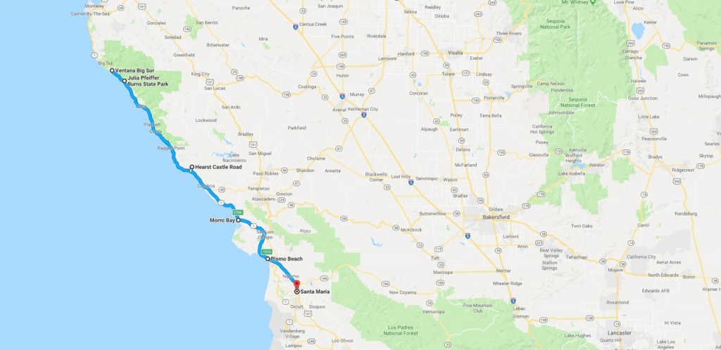 California Road Trip - The Perfect Two Week Itinerary | The Planet D - California Trip Planner Map