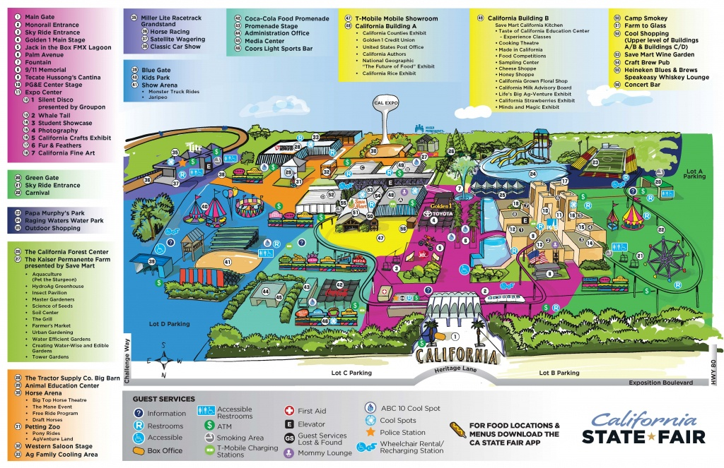 California State Fair Working To Keep Guests Cool Amid Fears Of - California Mid State Fair Map