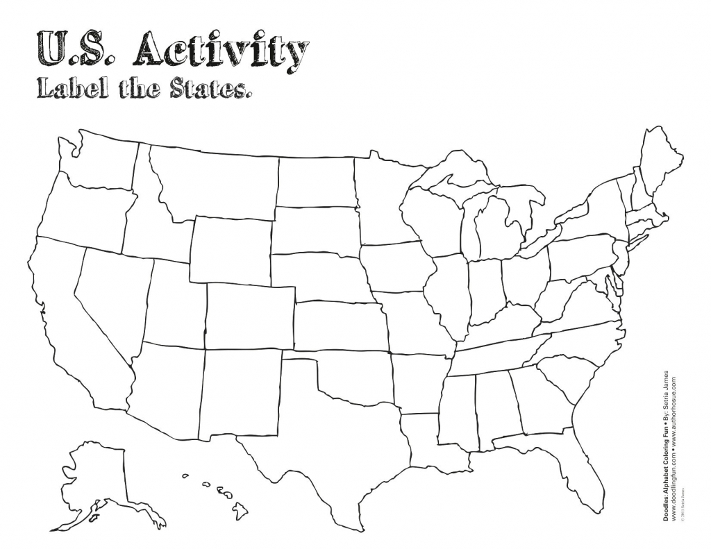California State Outline Map Detailed United States Map Printable - Free Printable Map Worksheets