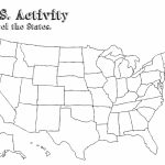 California State Outline Map Detailed United States Map Printable   Printable United States Map Pdf
