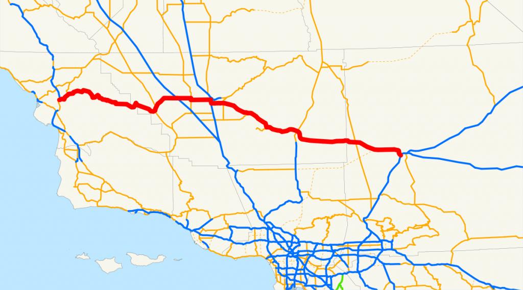 California State Route 58 - Wikipedia - Mojave California Map