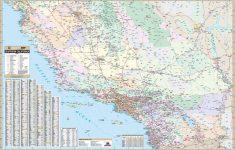 California State Southern Wall Map – Kappa Map Group   California Wall Map