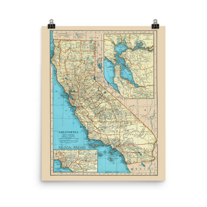 Surf Spots In California Map