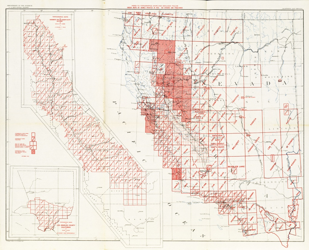 California Topographic Maps - Perry-Castañeda Map Collection - Ut - Where Is Hollister California At On A Map