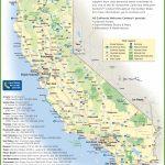 California Travel Map   California National Parks Map