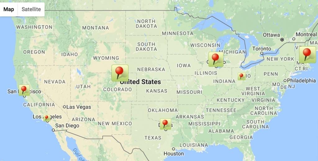 California Us Google M Map Of California Springs Google Maps San - Google Maps San Antonio Texas