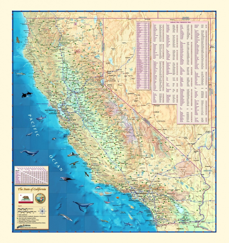 California Wall Map - Maps - California Wall Map
