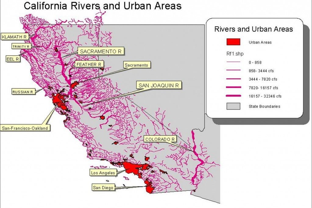California Water Rights – In The Beginning | Romick In Oakley - California Water Rights Map
