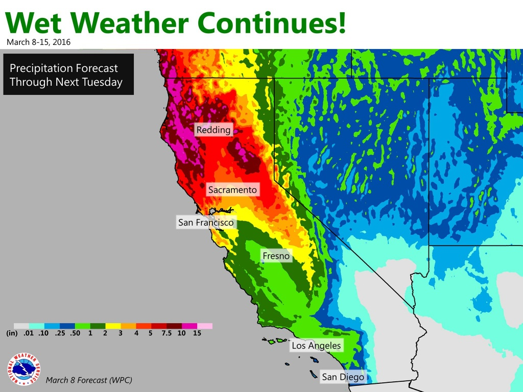 California Weather Map - Squarectomy - California Weather Map