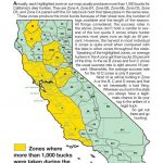 California Zone Map For Deer Hunting – Map Of Usa District   Deer Hunting Zones In California Maps