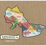 Cambridge Ma Neighborhood Map Original Cut Paper Print Free | Etsy   Printable Map Of Cambridge Ma