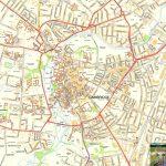 Cambridge Offline Street Map, Including Cambridge University, River   Printable Map Of Cambridge Ma