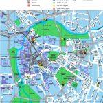 Cambridge Tourist Map   Printable Map Of Cambridge Ma