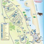 Campground Map Anastasia State Park   Florida   Florida Camping   Florida State Park Campgrounds Map
