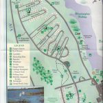 Campground Map – Anastasia State Park – St. Augustine – Florida – Florida Rv Camping Map