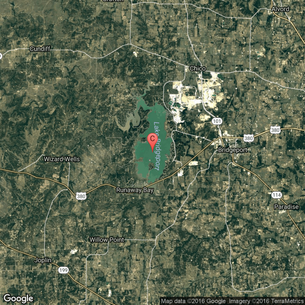Campgrounds In Lake Bridgeport, Texas | Usa Today - Bridgeport Texas Map