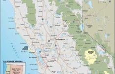 Camping California Coast Map   Secretmuseum   Camping Northern California Coast Map
